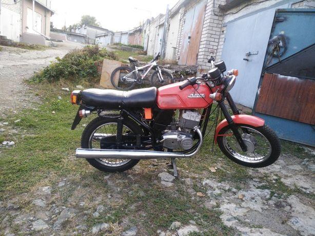 Мотоцикл Ява634- 638 JAWA
