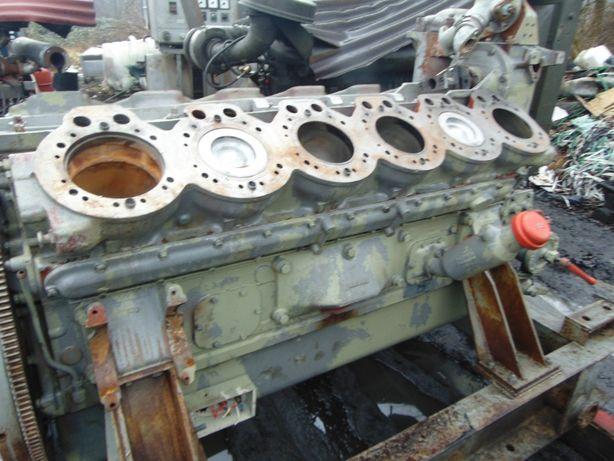 Blok Silnik Tuleja Wał Korbowy Wałek Rozrządu Silnik WOLA Henschel H12
