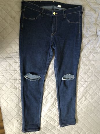 H&m skinny ankle jeans rozm. 42, pas 94cm.