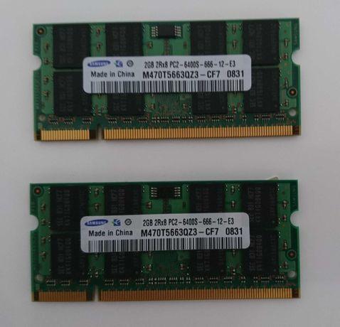 Pamięć RAM DDR2 do laptopa