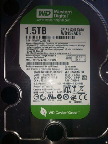 Жесткий диск WD 1.5 Tb