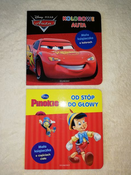 Disney Pixar Auta, Pinokio Od stóp do głowy Egmont