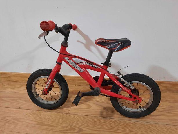 Bicicleta Astro vermelha roda 12 (marca Iberciclo)