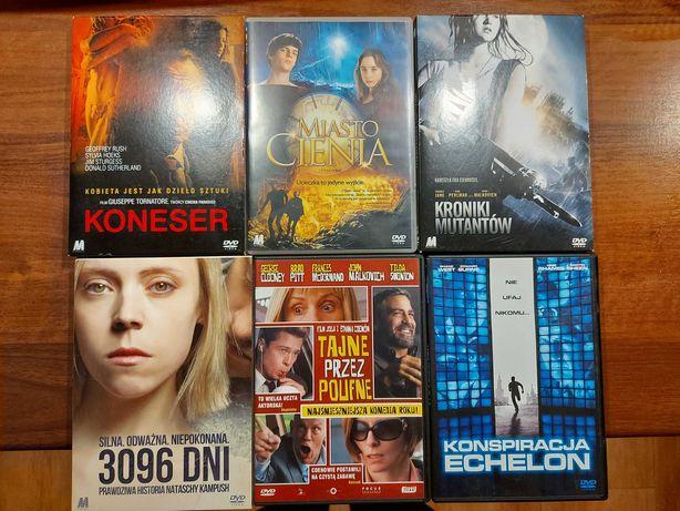 Filmy DVD 6 szt.