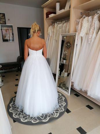 Suknia ślubna kalambria r. 38