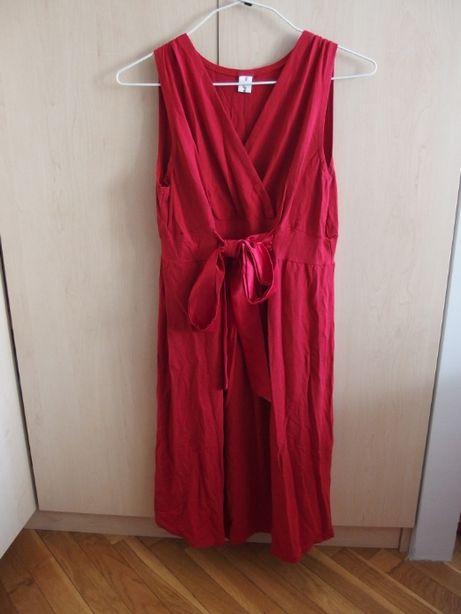 Sukienka ciążowa i do karmienia Lauren red r. 40 marka BEBEFIELD NOWA