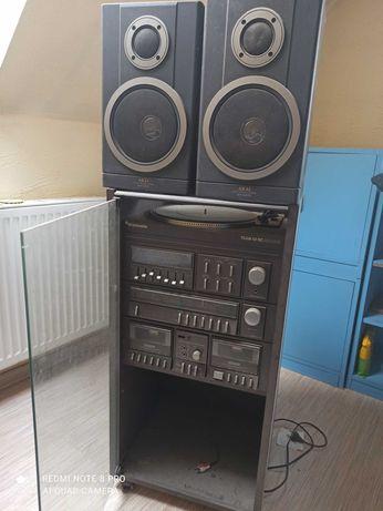 Radioodtwarzacz Schneider Team 52 RC De Luxe + głośniki Akai SW M373