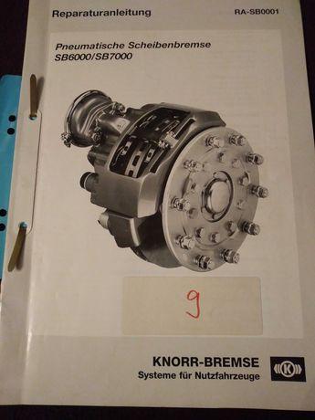 Instrukcja naprawy i budowy pneumatyczny hamulec tarczowy