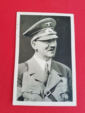 Pocztówka III Rzesza Hitler