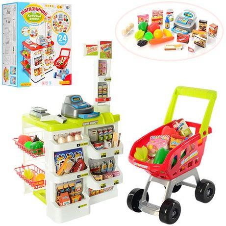 Детский набор Магазин-супермаркет 668-01-03 c тележкой