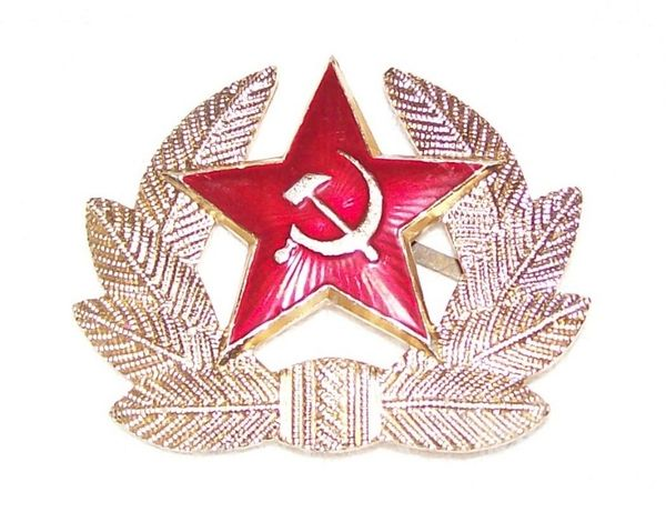 Кокарда времён СССР.
