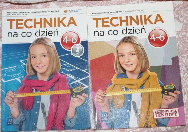 """Podręcznik """"Technika na co dzień""""- 1 i 2 część -szkoła podstawowa"""