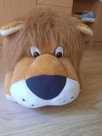 Oooooogromny lew pluszak jeździk zabawka 120 cm