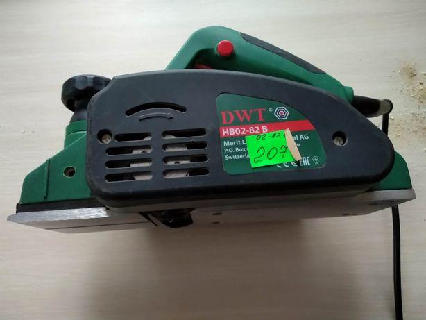Новый Электрорубанок DWT HB02-82 B ДВТ рубанок ручной электроинструм