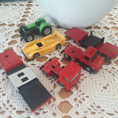 6 sztuk metalowe samochodziki traktor firmy SIKU
