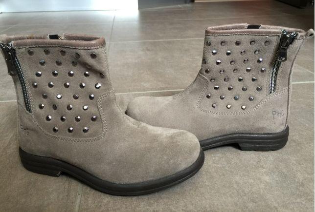 PRIMIGI замшевые ботинки сапожки полуботинки 30 размер стелька 19,5 см