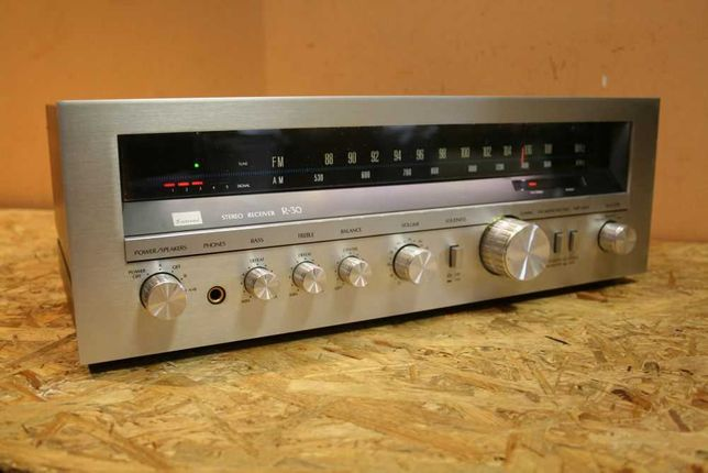 VINTAGE! Śliczny klasyk! Amplituner SANSUI R-30 Stereo Reciver/Wysyłam