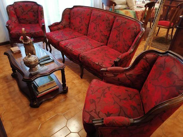 Conjunto Sofás estilo D. João II (colonial)