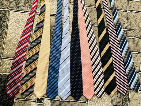 Мужской галстук  б.у