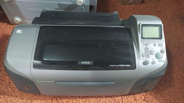 Epson r300 струйный цветной принтер