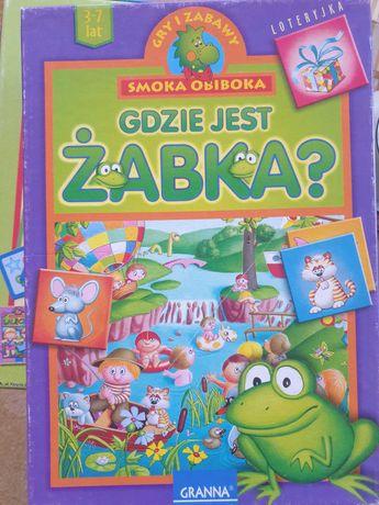 Gra loteryjka Gdzie jest żabka.  Granna.