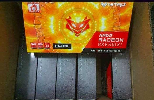 Видеокарта Sapphire Radeon RX 6700 XT 12 GB NITRO+ (11306-01-20G)