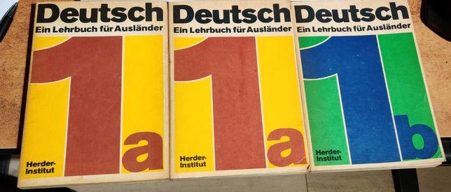 Deutsch lehrbuch 1a 1b. Herder Institut.