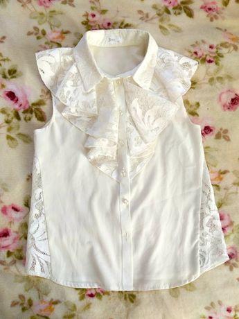 Блузка на 8-9 лет