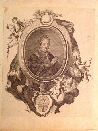 Gravura do papa Clemente XIV