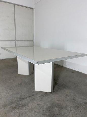 Mesa de reuniões retangular 2200 C x 1100 L x 750 A