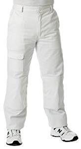 Spodnie robocze dla malarzy klasy T, białe DUŻE 34-36