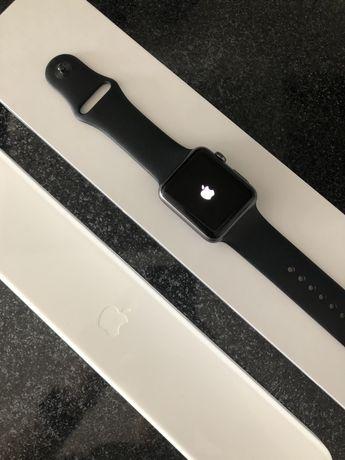 Apple Watch Sport 42 mm SPACE GRAY jak NOWY + dodatki!