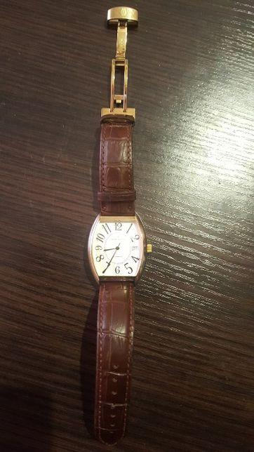 Швейцарские позолоченные часы Claude Bernard 80050. Механика