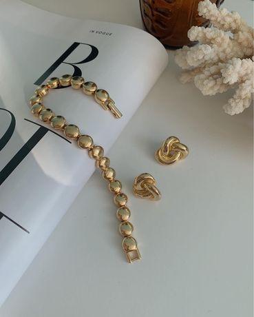 Красивейший винтажный браслет Бижутерия США