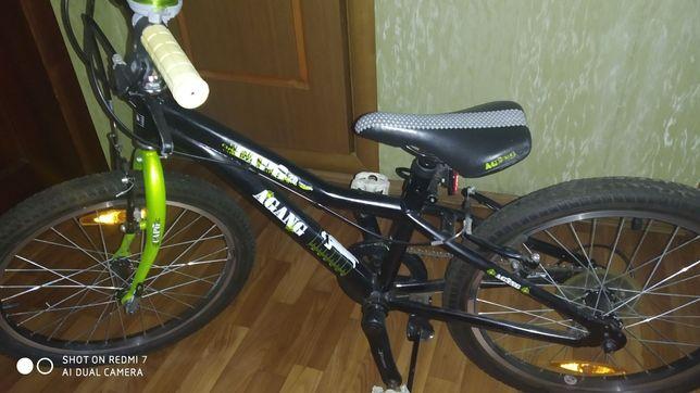 Велосипед на 7-9 лет колеса 20
