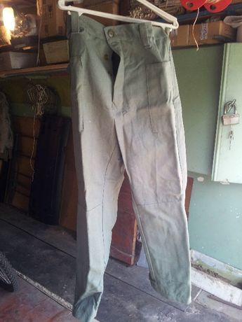 Брюки сварщика,штаны, плотный брезент,нове, под широкий ремень, ,СССР,
