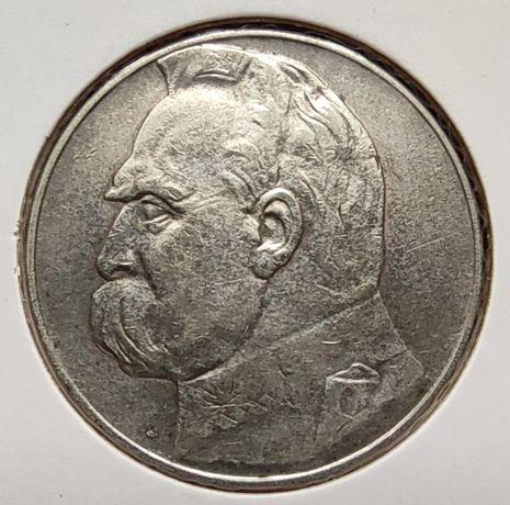Sprzedam srebrną monetę 10 zł 1935 Piłsudski
