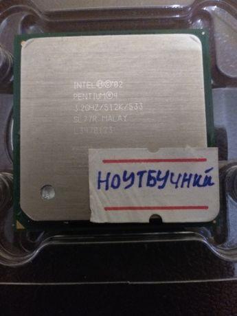 Ноутбучний процессор Intel Pentium 4 HT (3.2/512/533) Два потоки SL77R