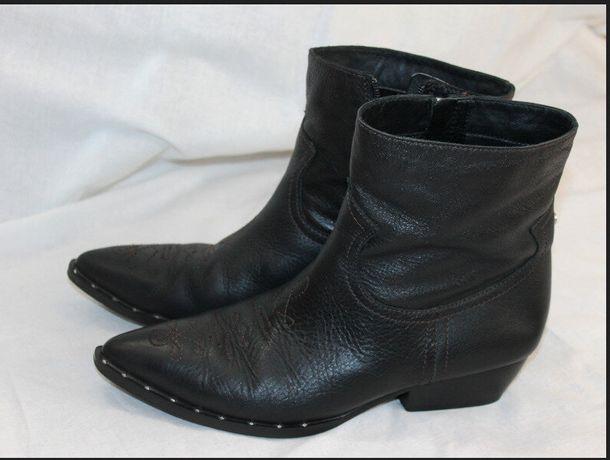 Ботинки Казаки Sam Edelman кожа сапоги