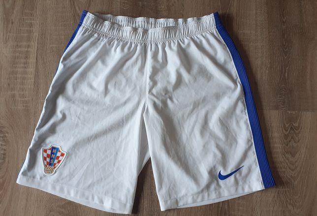 Spodenki piłkarskie Nike reprezentacji Chorwacja