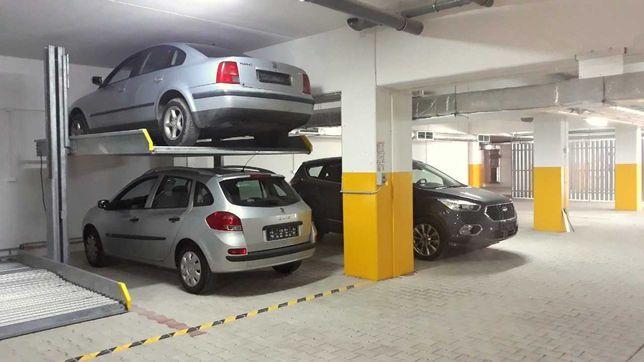 komfortowe miejsce postojowe na dwa samochody