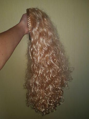 Накладка волосы на обруче/шиньен на обруче/парик
