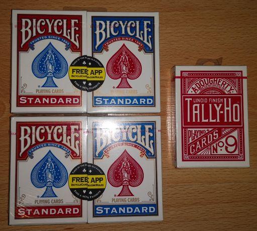 Karty Bicycle, Tally-Ho nowe w folii
