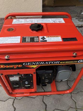Обмен генератор Denyo GA1600  миниэлектростанция 1,3кВт, бензин.
