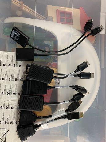 Adapter przejsciówka Displayport - Vga lub DvI