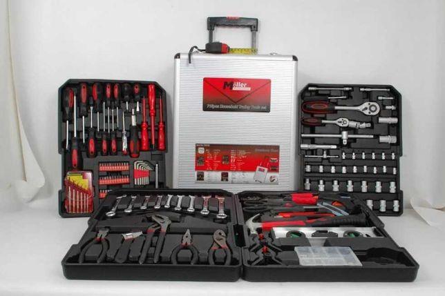 Moller Professional ручной / (Большой) инструменты 715шт, набор ключи
