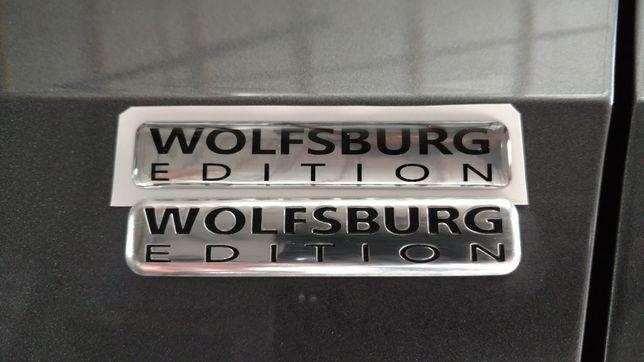 шильдик эмблема Wolfsburg Edition для VOLKSWAGEN PASSAT B7 USA