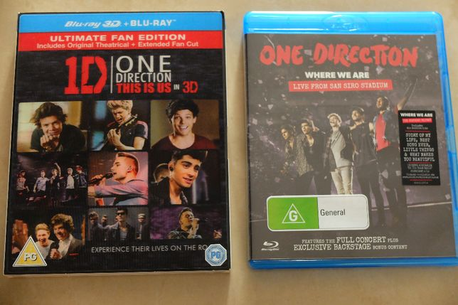 Koncerty Blu Ray One Direction - This Is Us, Where We Are