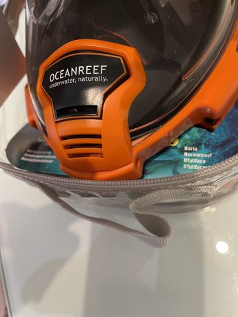 Маска для снорклинга Ocean Reef Aria QR+Full Face
