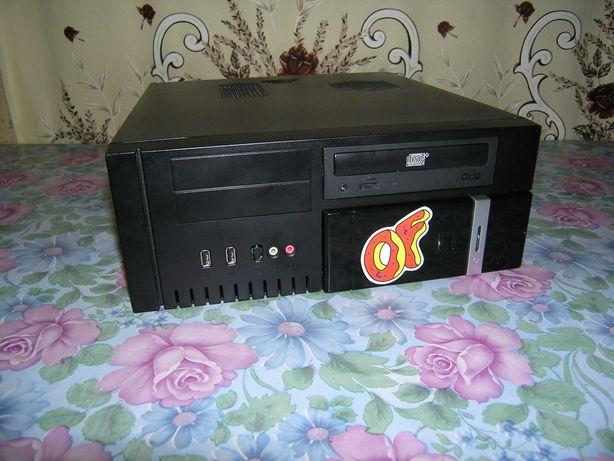 КОМПЬЮТЕР - системный блок под телевизор или для игрушек! Slim версия!